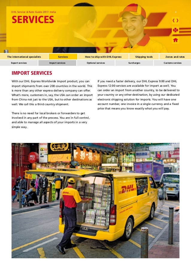 DHL Rate - 2017 ( FREE Door Pick Up: 98 46 31 46 41 ) DHL