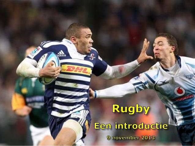 """Disclaimer 😊 •  Deze presentatie is geen compleet overzicht van alle rugby spelregels  •  Het is een """"handleiding"""" voor de..."""