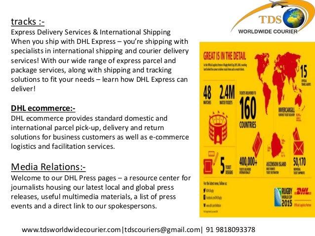 NO 1 DHL COURIER SERVICE BEST IN DELHI, CANADA, USA