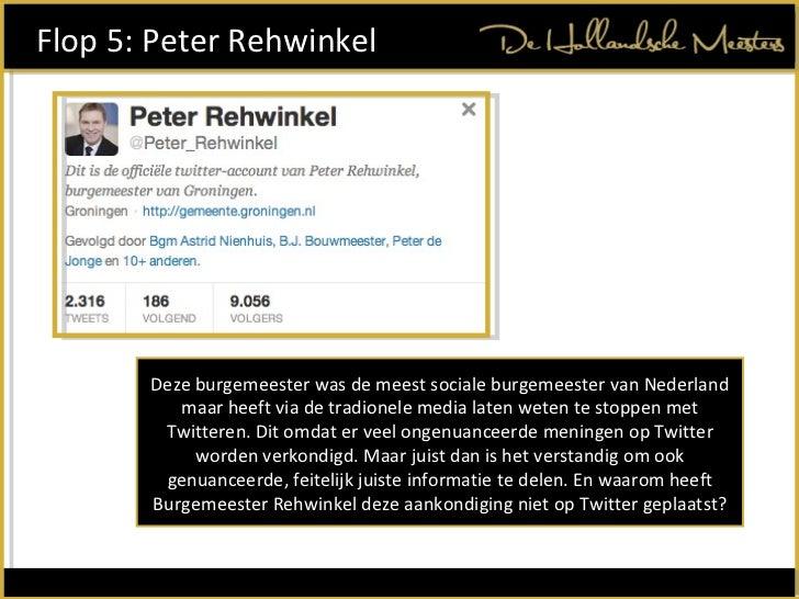 Deze burgemeester was de meest sociale burgemeester van Nederland maar heeft via de tradionele media laten weten te stoppe...