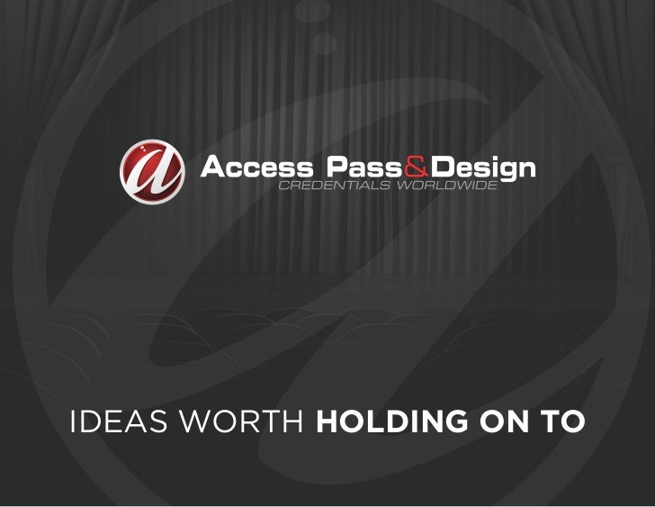 IDEAS WORTH HOLDING ON TO