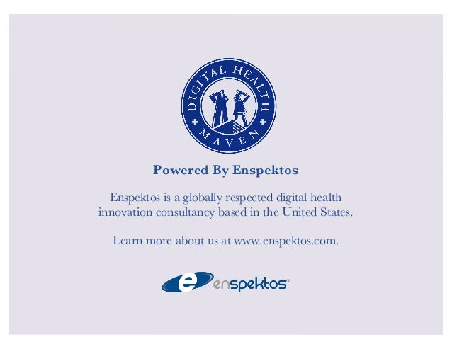 Powered By Enspektos  Enspektos is a globally respected digital health  innovation consultancy based in the United States....