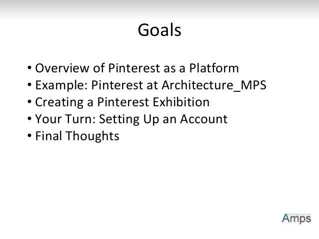 DH Week Workshop: Pinterest as Exhibition Slide 2