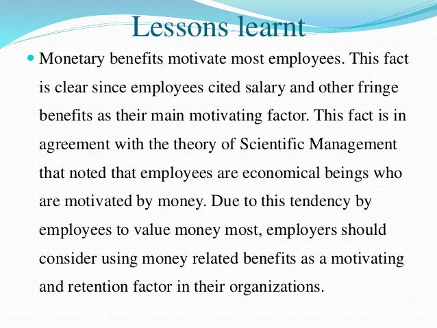 relationship between motivation and employee retention pdf
