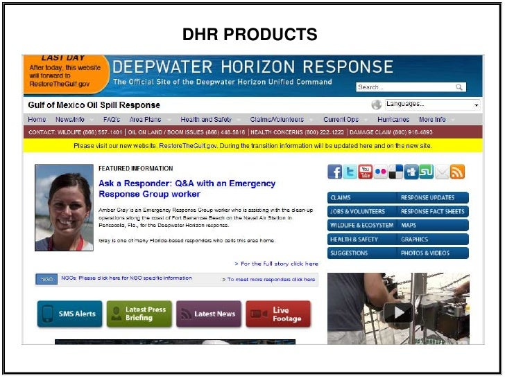 DHR PRODUCTS<br />