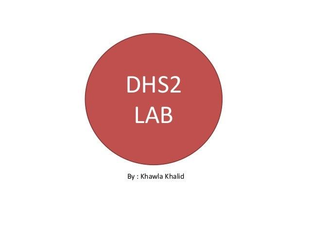 DHS2LABBy : Khawla Khalid