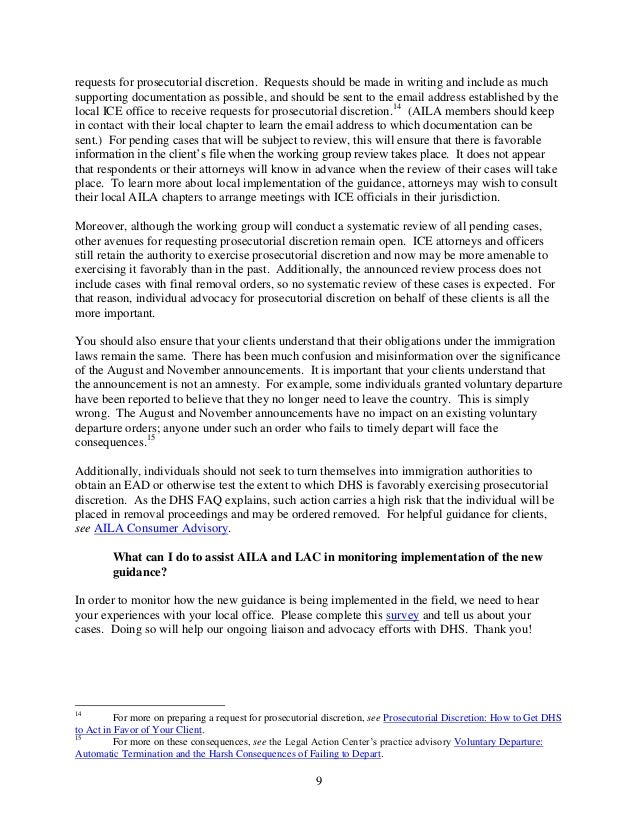 Dhs review of low priority cases for prosecutorial discretion in immi…