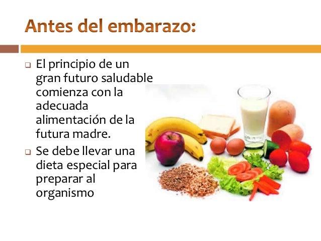 Nutrici n materno infantil antes durante y despu s del embarazo - Alimentos saludables para embarazadas ...