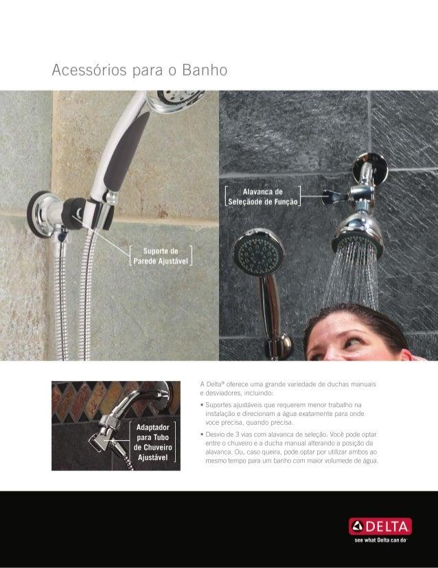 Acessórios para Banho Delta Faucet