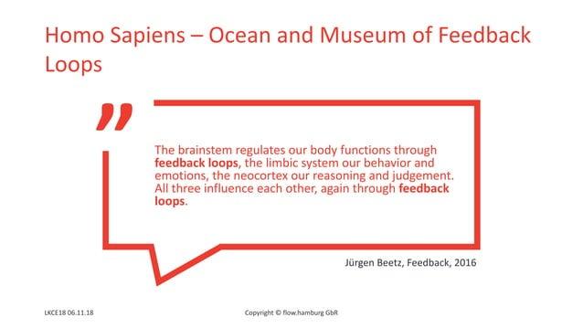 """ Homo Sapiens – Ocean and Museum of Feedback Loops LKCE18 06.11.18 Copyright © flow.hamburg GbR The brainstem regulates o..."