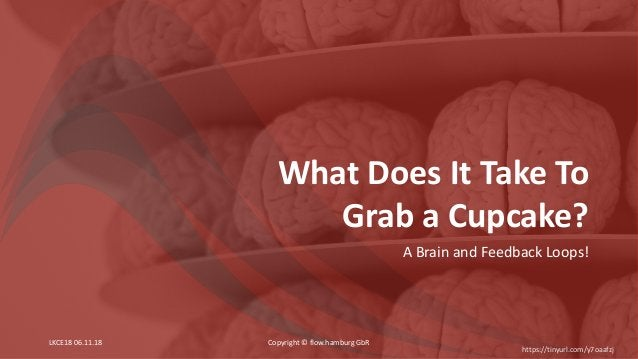 What Does It Take To Grab a Cupcake? A Brain and Feedback Loops! Copyright © flow.hamburg GbR https://tinyurl.com/y7oaafzj...