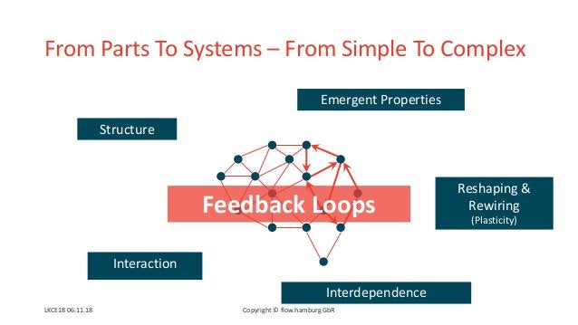 From Parts To Systems – From Simple To Complex Structure Interaction Interdependence Feedback Loops Emergent Properties Re...