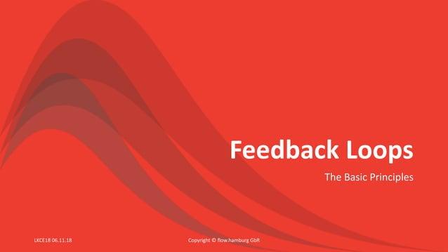 Feedback Loops The Basic Principles Copyright © flow.hamburg GbRLKCE18 06.11.18