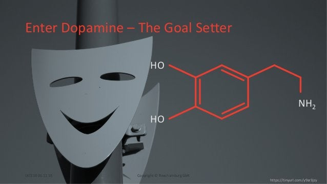 Enter Dopamine – The Goal Setter https://tinyurl.com/y9ar3jzy HO HO NH2 Copyright © flow.hamburg GbRLKCE18 06.11.18