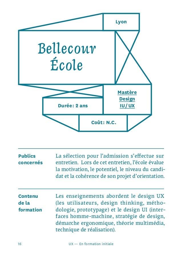 Guide Des Formations L 39 Ux Design Au Design D 39 Interface