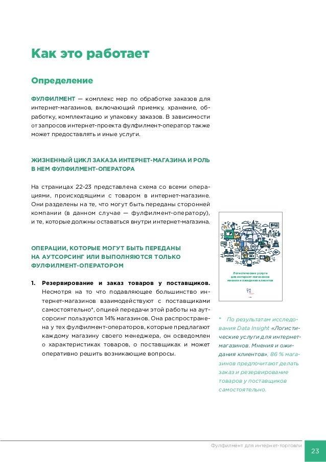 41dae87f616a3 2016 Логистические услуги для интернет-магазинов: мнения и ожидания  клиентов; 23. 24 Фулфилмент ...