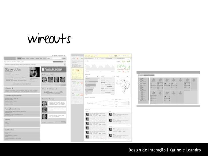 wireouts           Design de Interação | Karine e Leandro