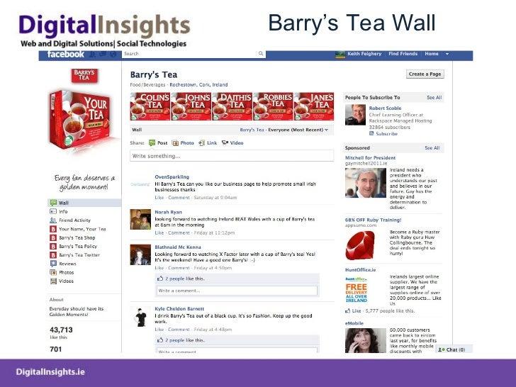 Barry 's Tea Wall