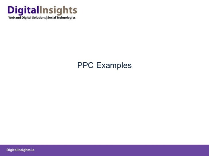 PPC Examples