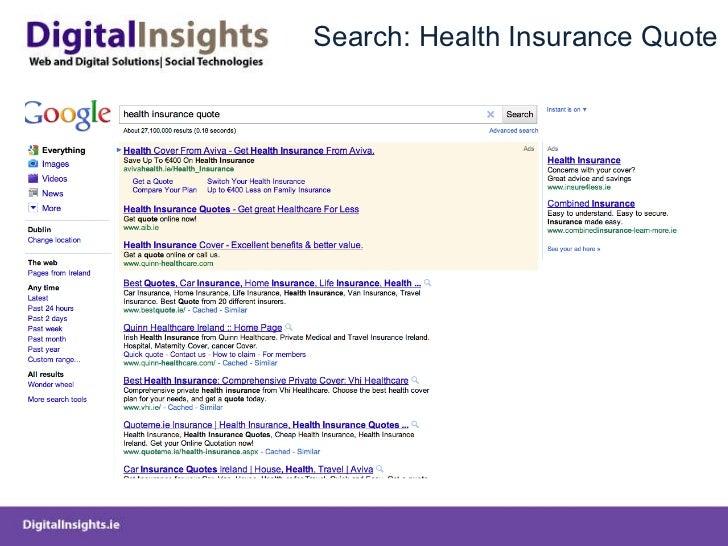 Search: Health Insurance Quote