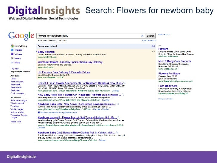 Search: Flowers for newborn baby