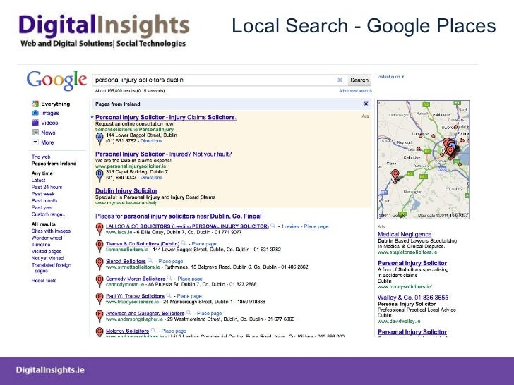 Local Search - Google Places