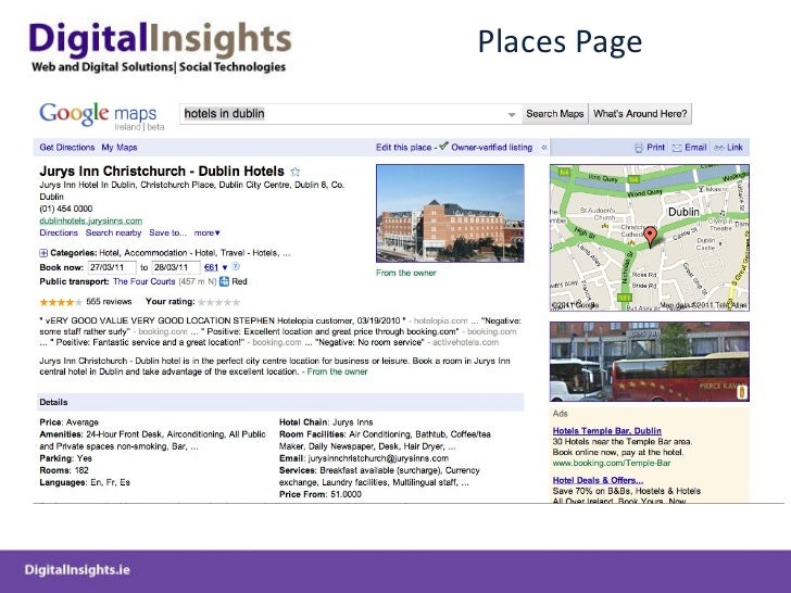 Places Page