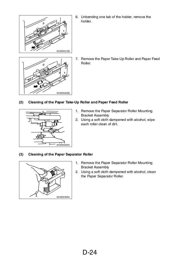 service manual di470 manual de mantenimiento para maquinas fotocopi rh slideshare net Konica Minolta MFD Konica Minolta Di Alta