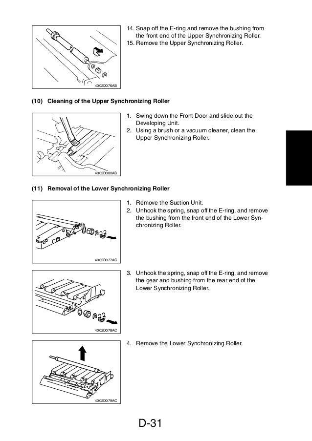 service manual di470 manual de mantenimiento para maquinas fotocopi rh slideshare net Minolta Dialta Di251 Copier Minolta Dialta Toner