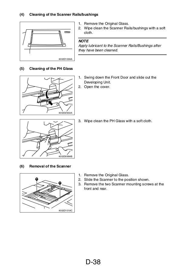 service manual di470 manual de mantenimiento para maquinas fotocopi rh slideshare net Minolta Dialta Di251 Copier Konica Minolta MFD