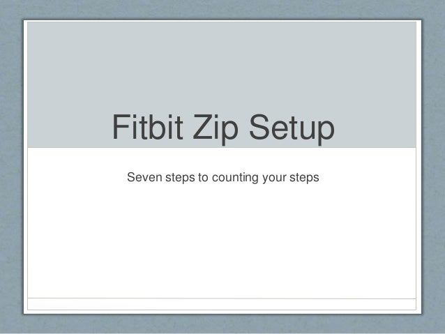 Fitbit Instructions