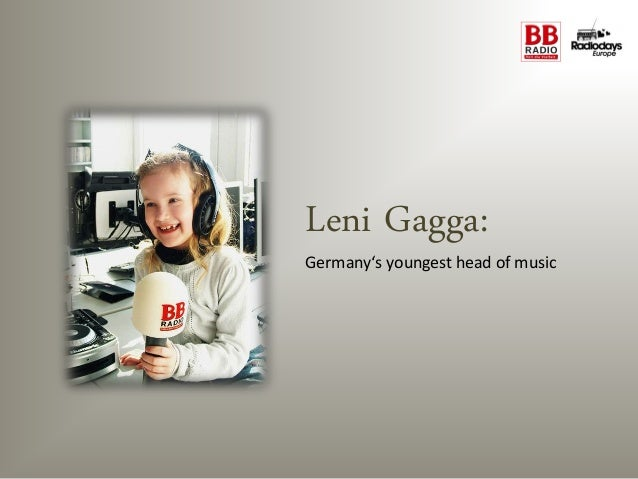 Leni Gagga:Germany's youngest head of music