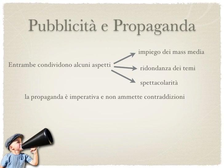 Pubblicità e Propaganda   Confronto tra due manifesti degli anni '30