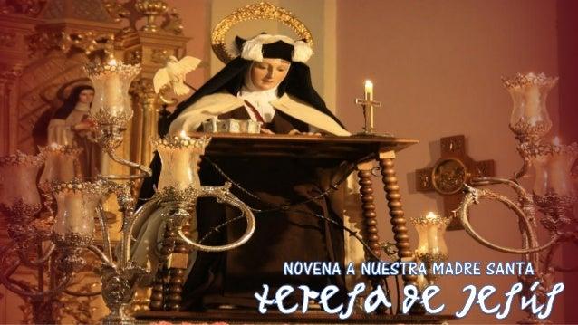 Dia  9 novena a nuestra madre santa