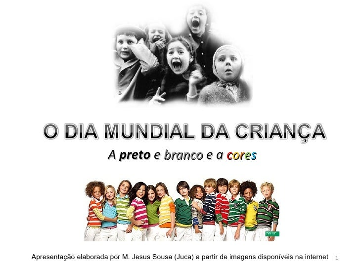 A preto e branco e a coresApresentação elaborada por M. Jesus Sousa (Juca) a partir de imagens disponíveis na internet 1