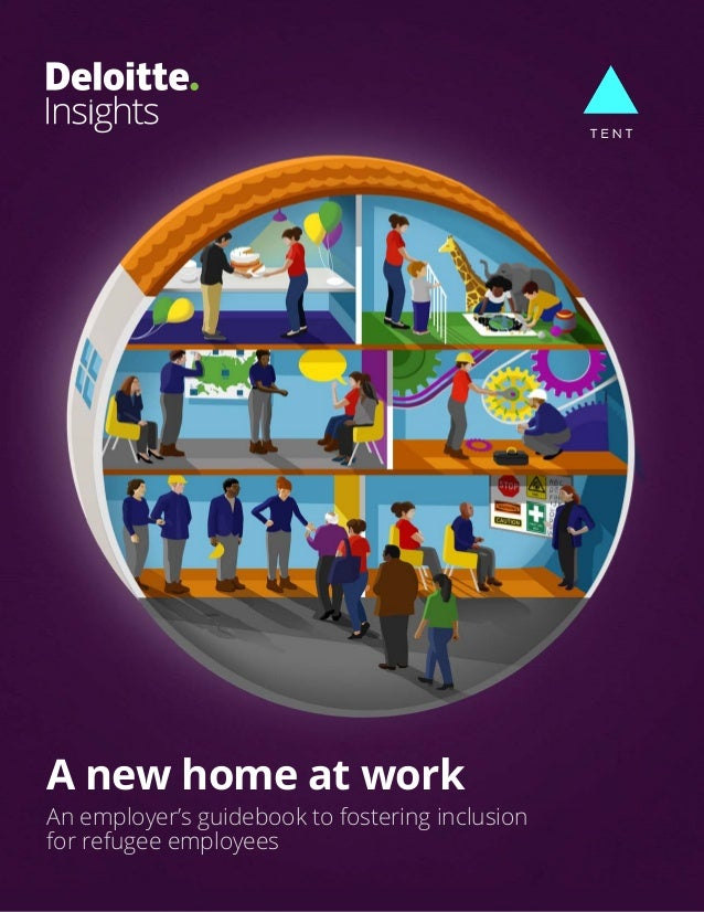 A new home at work An employer's guidebook to fostering inclusion for refugee employees