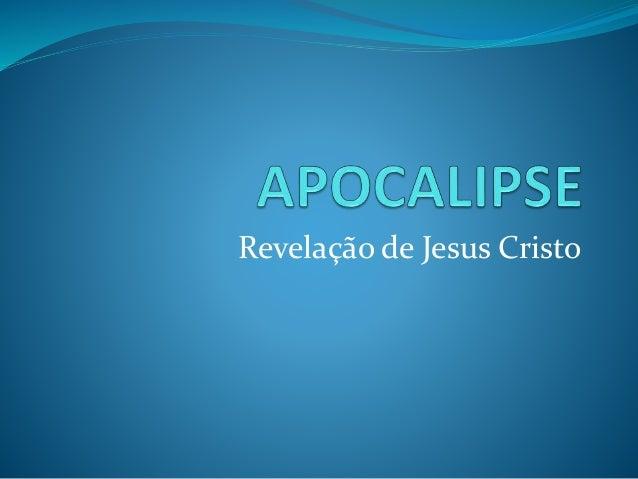 Revelação de Jesus Cristo