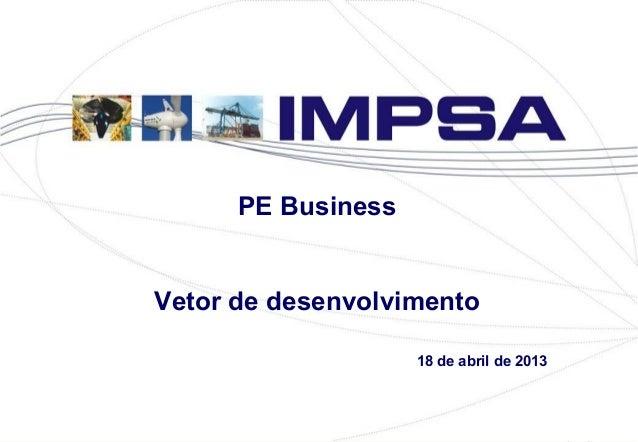PE BusinessVetor de desenvolvimento18 de abril de 2013