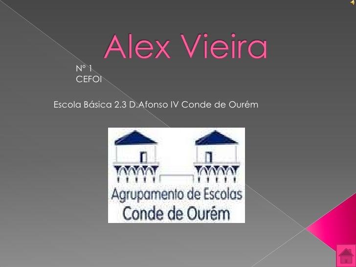Nº 1     CEFOI  Escola Básica 2.3 D.Afonso IV Conde de Ourém