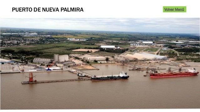 PUERTO DE NUEVA PALMIRA Volver Menú