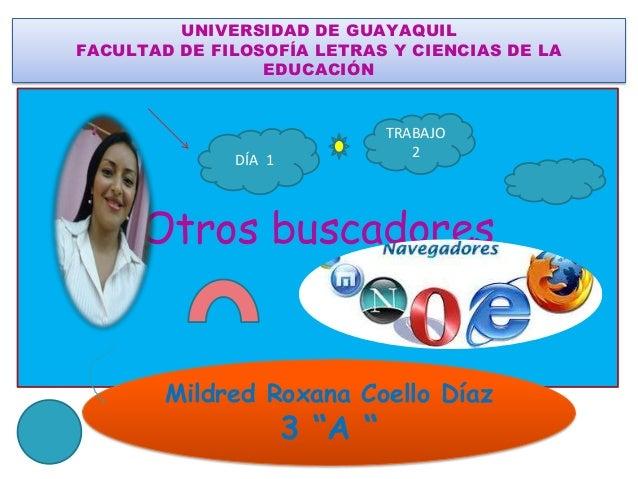 UNIVERSIDAD DE GUAYAQUILFACULTAD DE FILOSOFÍA LETRAS Y CIENCIAS DE LA                 EDUCACIÓN                           ...