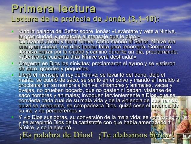 Resultado de imagen para Jonás (3,1-10)
