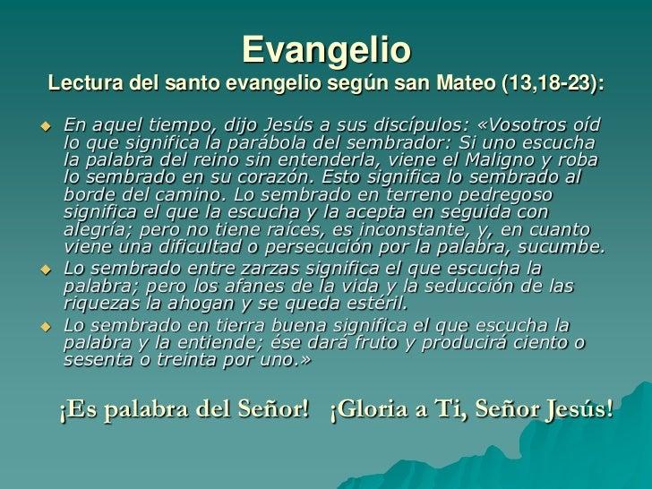 Resultado de imagen para Mateo (13,18-23)