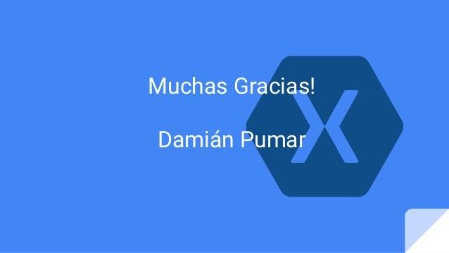 Muchas Gracias! Damián Pumar