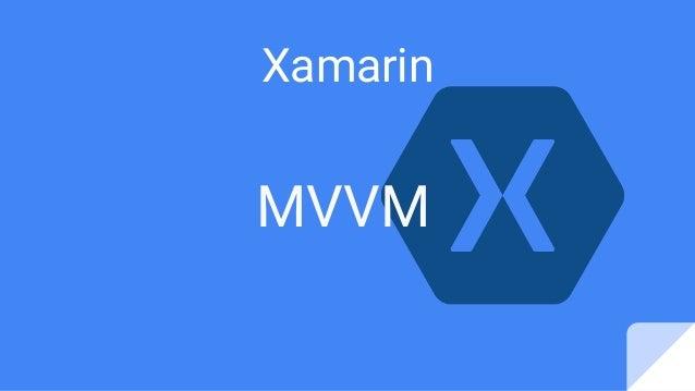 MVVM Xamarin