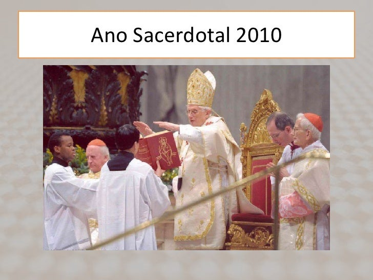 Ano Sacerdotal 2010<br />