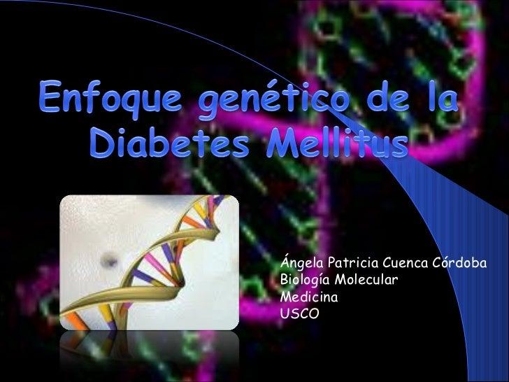 Ángela Patricia Cuenca Córdoba Biología Molecular Medicina USCO