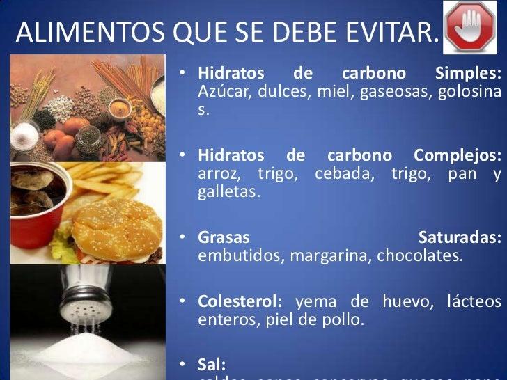Diabetes nutrici n y control de pacientes diabeticos - Alimentos que no debe comer un diabetico ...