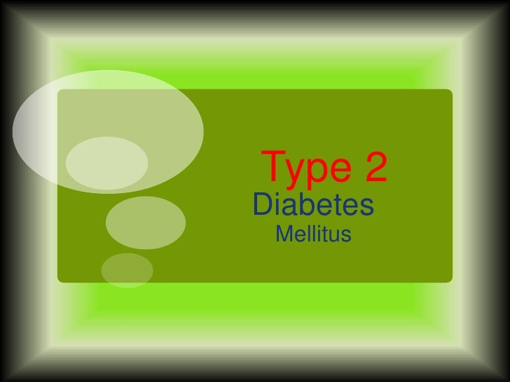 Type 2Diabetes Mellitus