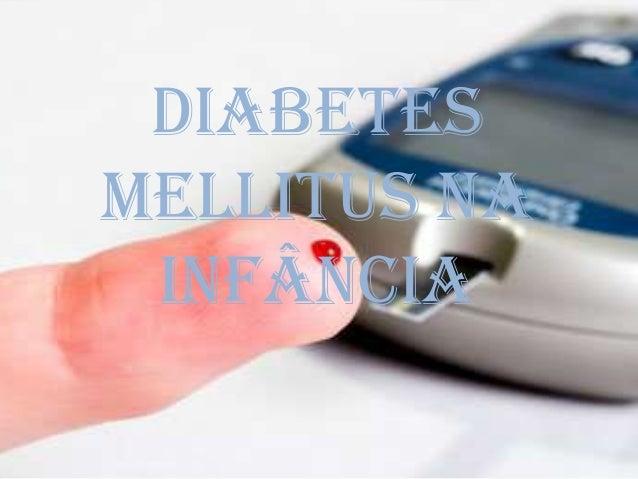 Diabetes mellitus na infância
